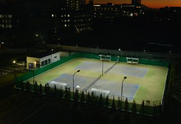 「砂入り人工芝 ダイヤコートAS」(テニスコート)