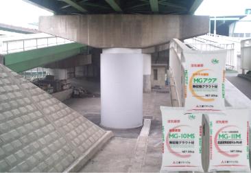 耐震対策・機械基礎用無収縮モルタル