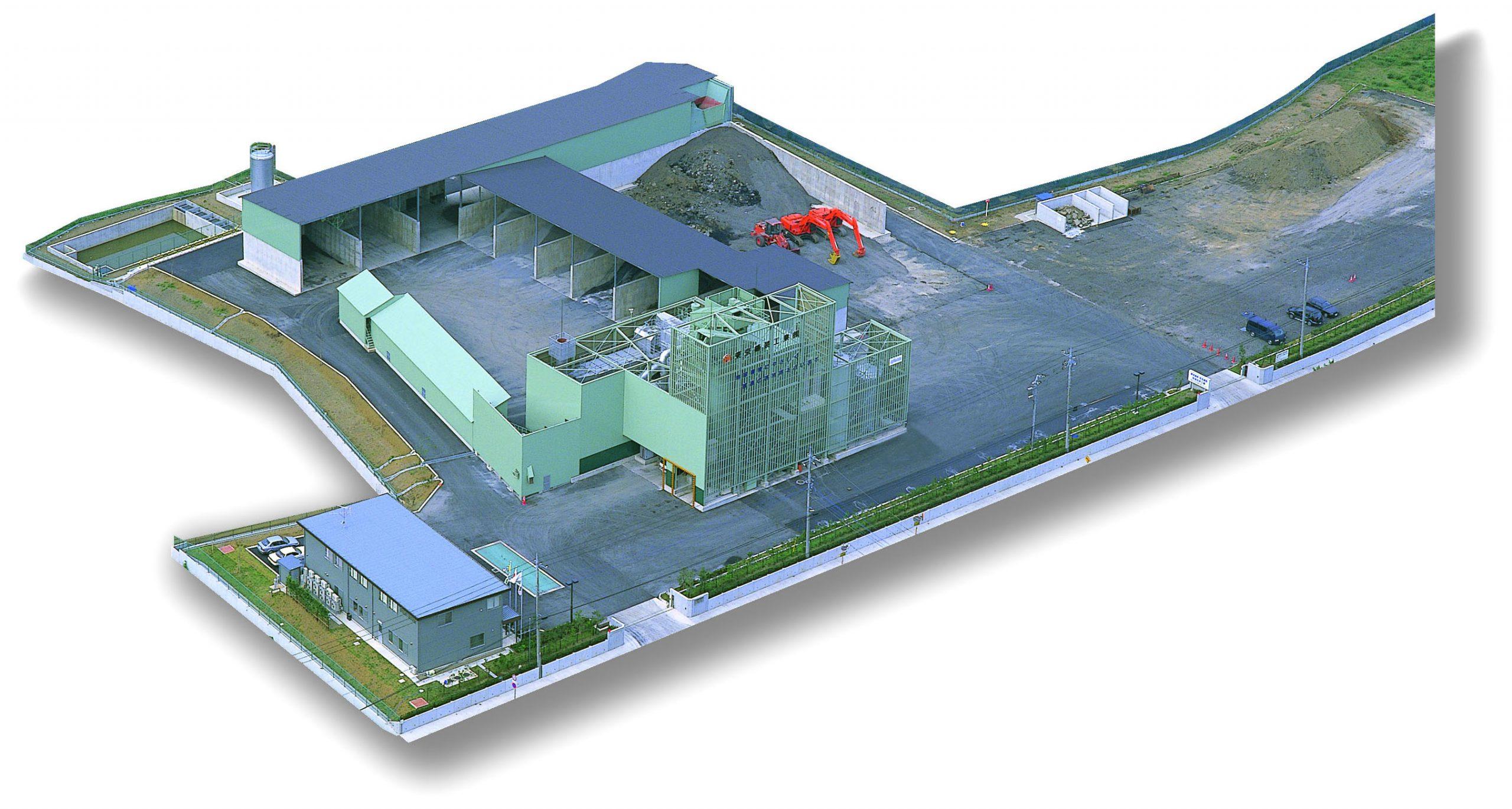アスファルト合材工場